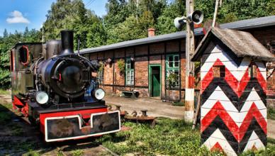 Rudy stacja kolei wąskotorowej