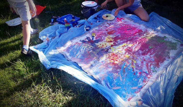 Colour my walls... stwórz rodzinne dzieło sztuki