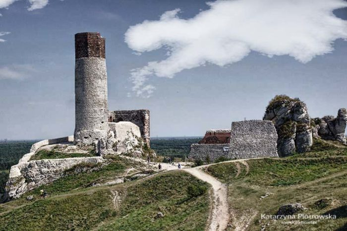 Olsztyn - wieża okrągła