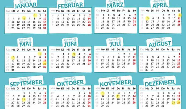 dni wolne od pracy w 2021